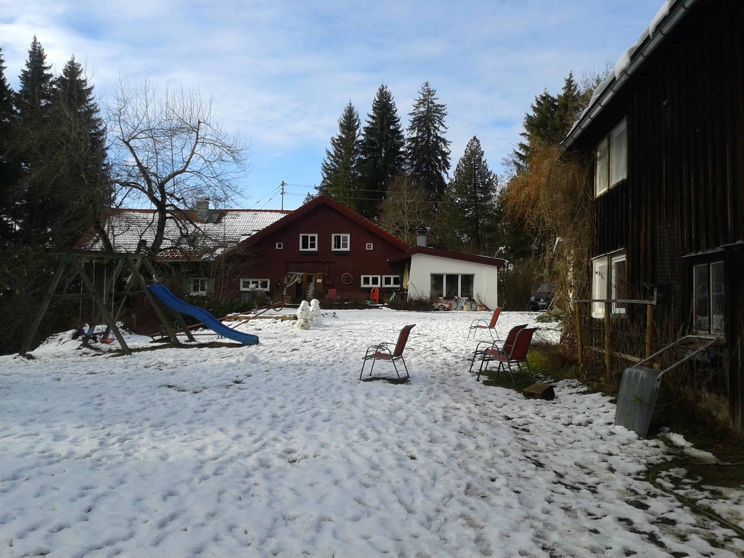 Wertacher Mühle im Winter