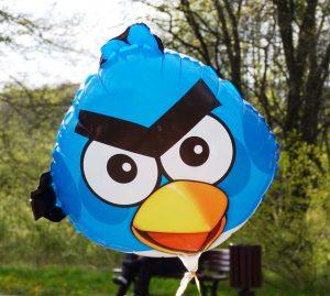 Angry Bird-Luftballon