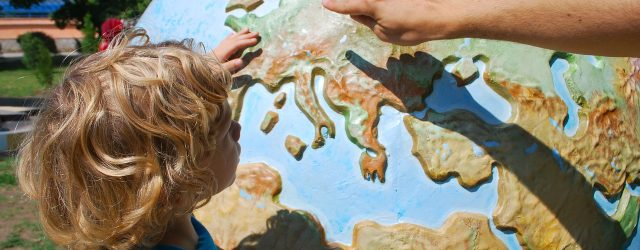 Reisen und Kunst mit Kind