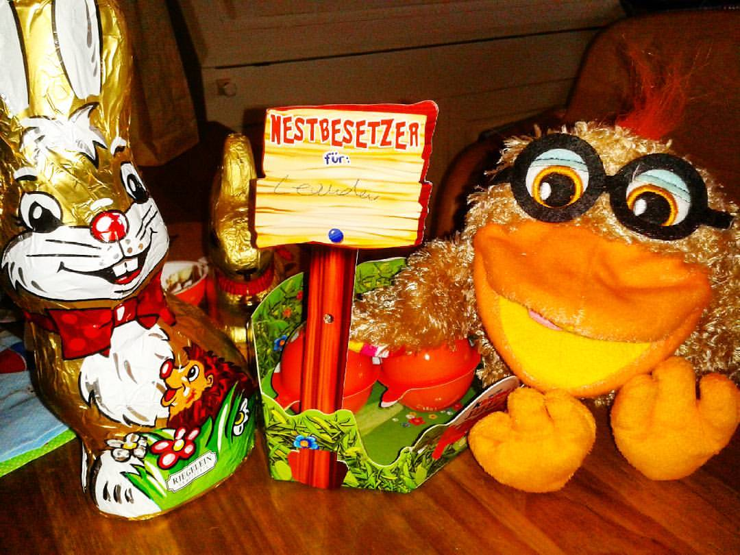 Frohe verregnete Ostern