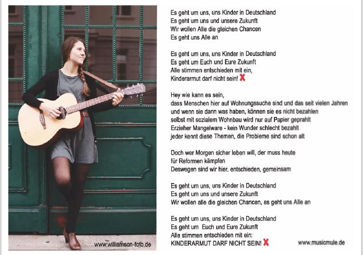 Demosong von Laura Ernst